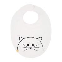 Lätzchen Bib Waterproof Medium, Little Chums Cat