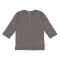 Baby Langarmshirts GOTS - Cozy Colors, Spots Anthracite