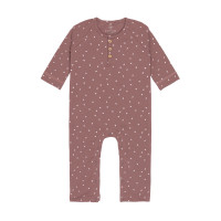 Strampler - Baby Overall, Triangle Cinnamon