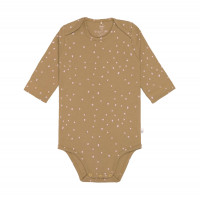 Baby Body - Langarm, Dots Curry (7 - 24 Monate)