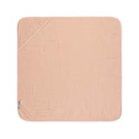 Kinder Kapuzenhandtuch aus Mull - Muslin Hooded Towel, Light Pink