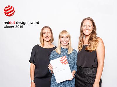 LAESSIG-RedDot-Award-Foto-Preisverleihung-Designteam