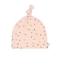 Babymütze - Beanie, Dots Powder Pink