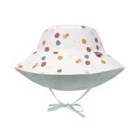Sonnenhut Kinder - UV Schutz Bucket Hat, Spotted White