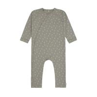 Baby Schlafanzug GOTS - Pyjama Cozy Colors, Speckles Olive