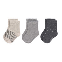 Kindersocken (3er-Pack) - Socks, Grey