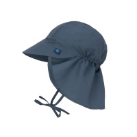 Sonnenhut Kinder -  Flap Hat, Navy