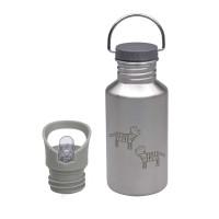 Trinkflasche Kinder - Edelstahl, Safari Tiger