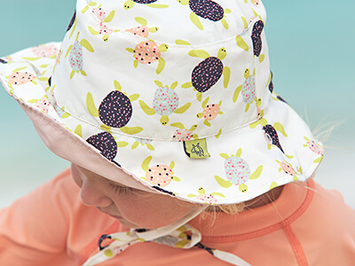LAESSIG-Bademode-Kollektion-2019-Splash-Fun-Sonnenhut-Bucket-Hat-turtle