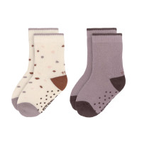 Kinder Antirutsch-Socken (2er-Pack) - Socks, Tiny Farmer Lila