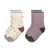 Kinder Antirutsch-Socken (2er-Pack) - Socks, Tiny Farmer Lila