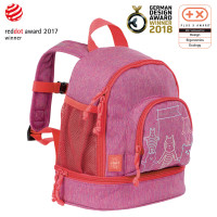 Kindergartenrucksack -  Mini Backpack, About Friends Mélange Pink