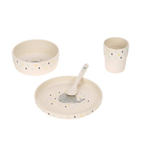 Kindergeschirr Set - Dish Set, Little Water Whale