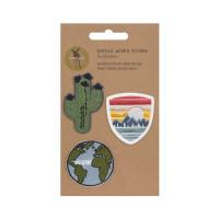 Textil-Sticker (3 Stk) - Schul Set Unique, Weltweit