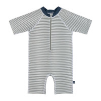 Kinder Schwimmanzug - Sunsuit, Striped Blue