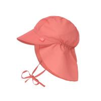 Sonnenhut Kinder -  Flap Hat, Coral