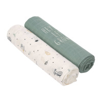 Mulltücher - Heavenly soft Swaddle XL, Garden Explorer Traktor