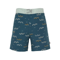 Windelbadehose Kinder - UV Schutz Shorts, Sea Snake Blue