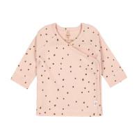 Baby Wickelhemd - Kimono, Powder Pink