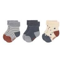 Babysocken (3er-Pack) - Socks, Tiny Farmer Blue