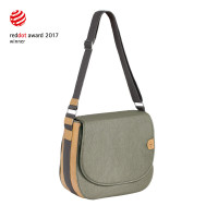 Wickeltasche Green Label Saddle Bag Spin Dye, Gold Mélange