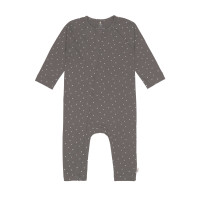 Baby Schlafanzug GOTS - Pyjama Cozy Colors, Spots Anthracite