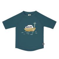 UV Shirt Kinder - Kurzarm Rashguard, Boat Blue