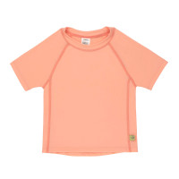 Kinder UV-Shirt - Short Sleeve Rashguard, Light Peach
