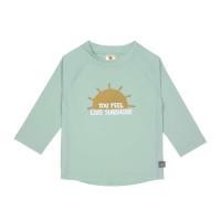 UV Shirt Kinder - Langarm Rashguard, Sunshine Mint