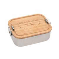 Kinder Brotdose Edelstahl - Lunchbox, Adventure