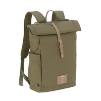 Wickelrucksack - Rolltop Backpack, Olive