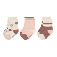 Kindersocken (3er-Pack) GOTS - Socks, Offwhite
