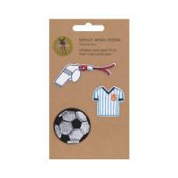 Textil-Sticker (3 Stk) - Schul Set Unique, Fussball
