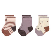 Kindersocken (3er-Pack) - Socks, Tiny Farmer Lila