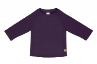 Kinder UV-Shirt - Long Sleeve Rashguard, Plum Jam