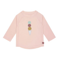 UV Shirt Kinder - Langarm Rashguard, Icecream Rose