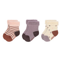 Babysocken (3er-Pack) - Socks, Tiny Farmer Lila