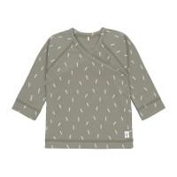 Baby Wickelhemd GOTS - Kimono Cozy Colors, Speckles Olive