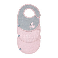 Lätzchen Bib Value Pack Small, Lela Light Pink