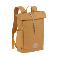 Wickelrucksack - Rolltop Backpack, Curry