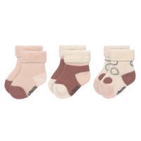 Babysocken (3er-Pack) GOTS - Newborn Socks, Offwhite