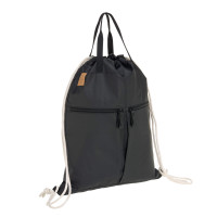 Turnbeutel -  Tyve String Bag, Black