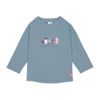 UV-Shirt Kinder - Long Sleeve Rashguard, Beach House Blue