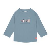 UV-Shirt Kinder - Long Sleeve Rashguard, Beach House Blue