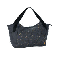 Zwillingswickeltasche Casual Twin Bag, Triangle Dark Grey