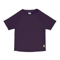 Kinder UV-Shirt - Short Sleeve Rashguard, Plum Jam