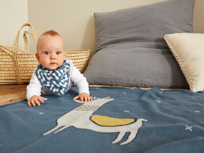 LAESSIG-Baby-Kollektion-Glama-Lama-Kuscheldecke-Baby-Blanket