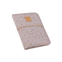 Windeltasche - Changing Pouch, Flowers Lilac