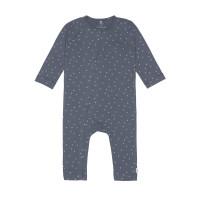 Baby Schlafanzug GOTS - Pyjama Cozy Colors, Triangle Blue