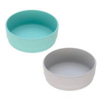 Schälchen im Set (2 Stk) - Bowl, Turquoise - Grey